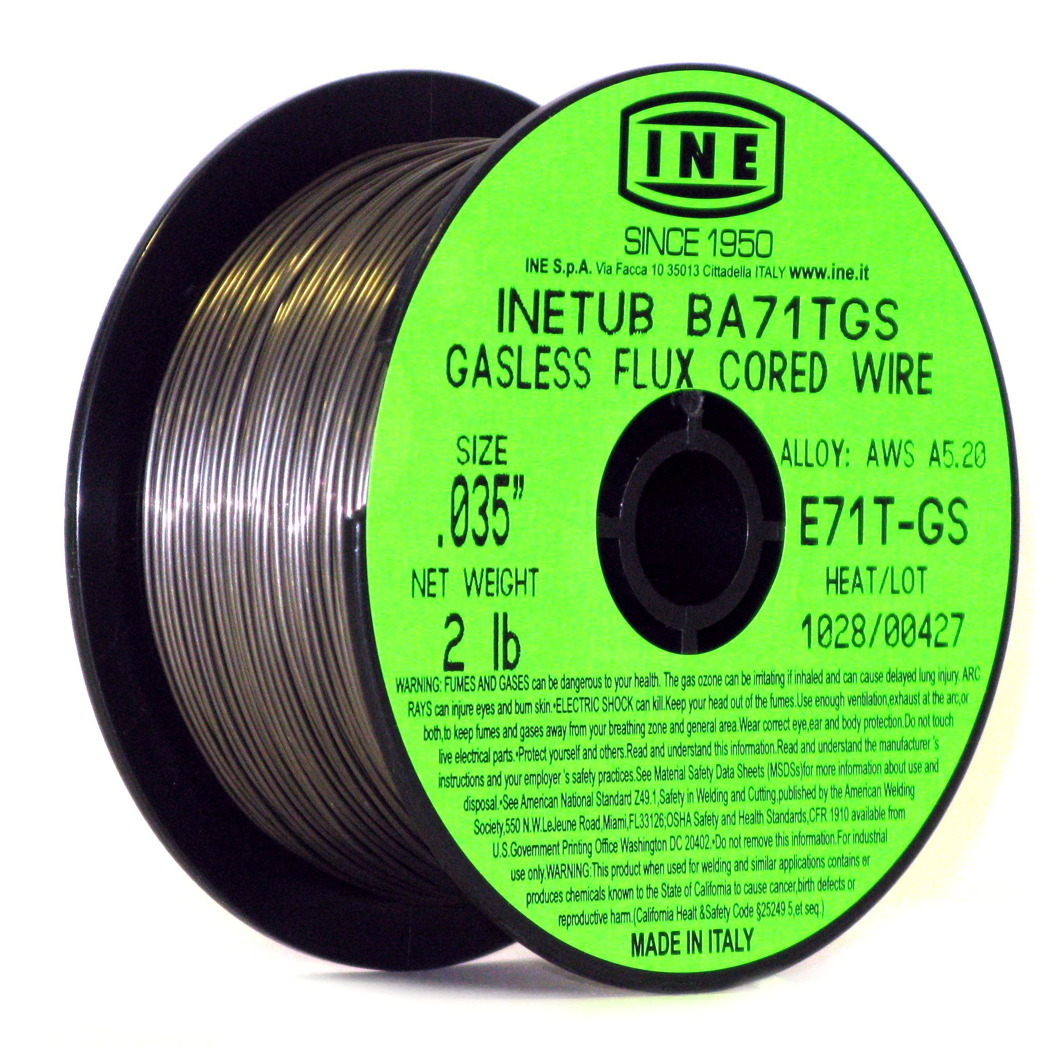 Self Shielded Cored Wire For C And C Mn Steels