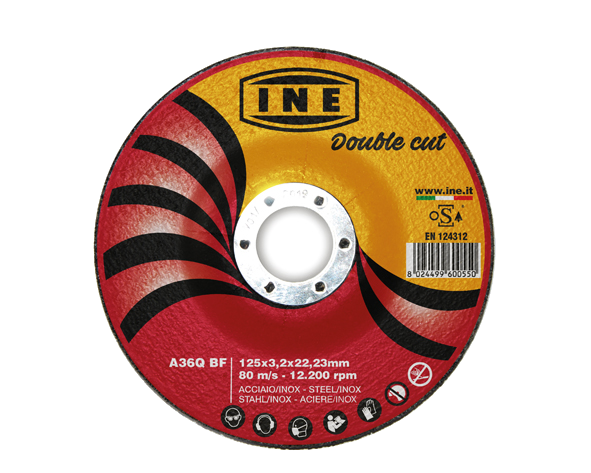 Steel and Inox cutting disc - Double Cut