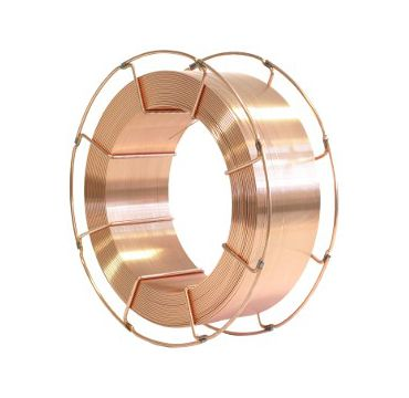 Mig Mag wire for welding of mild and low alloy steels