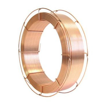 Solid wire for SAW welding of mild and low alloy steels