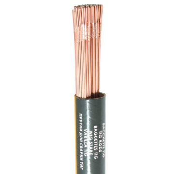 TIG rods for welding low temperatures steel
