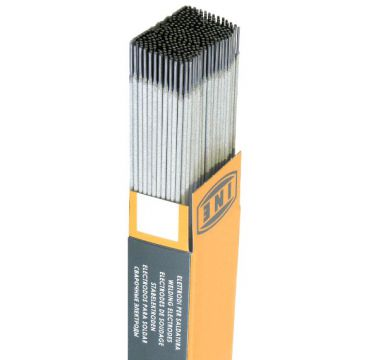 Rutile-coated stick electrode for welding carbon and C - Mn steels