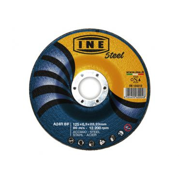 Flap center cutting disc for steel
