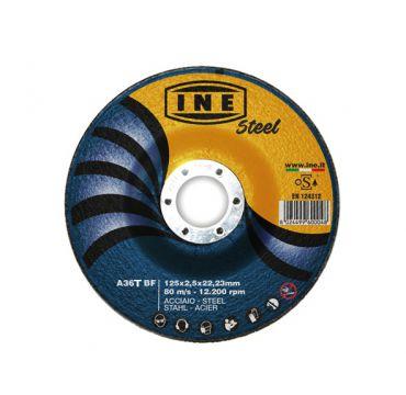 Steel cutting disc