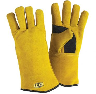 Split leather glove for MIG/MAG and MMA welding