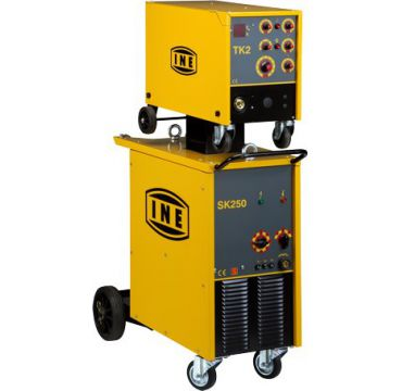 Electromechanical power sources for MIG/MAG welding