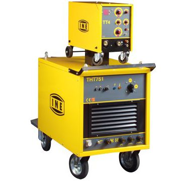 Electronic power sources for MIG/MAG and MMA welding